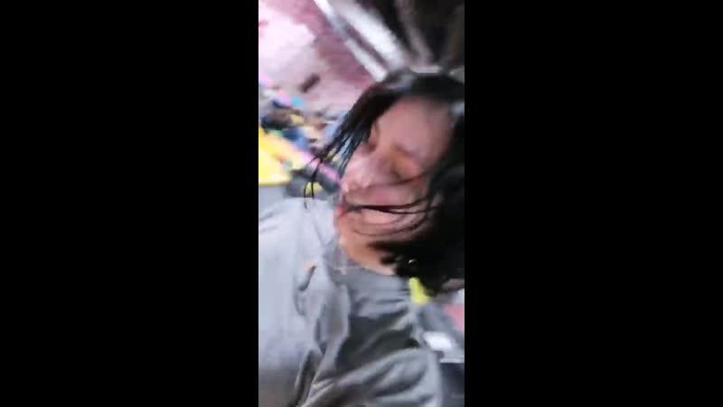 Мария Бабко развлекается в батутном центре 2 goddesbabko mashababko mariababko