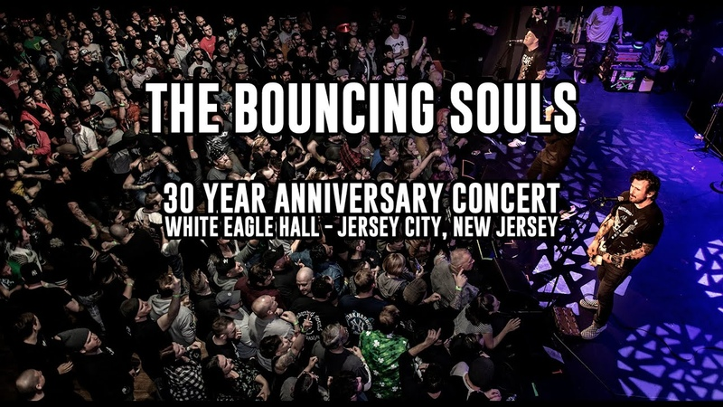 Bouncing Souls Live at White Eagle Hall 30th Birthday Show Jersey City NJ