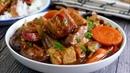 Wholesome Braised Tofu w Chicken 豆腐鸡锅 Chicken Tofu Pot Chinese Food Recipe How to cook Beancurd