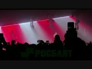 Рэпер Хаски выступил в Петербурге