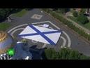 В Кронштадте развернули самый большой в мире Андреевский флаг
