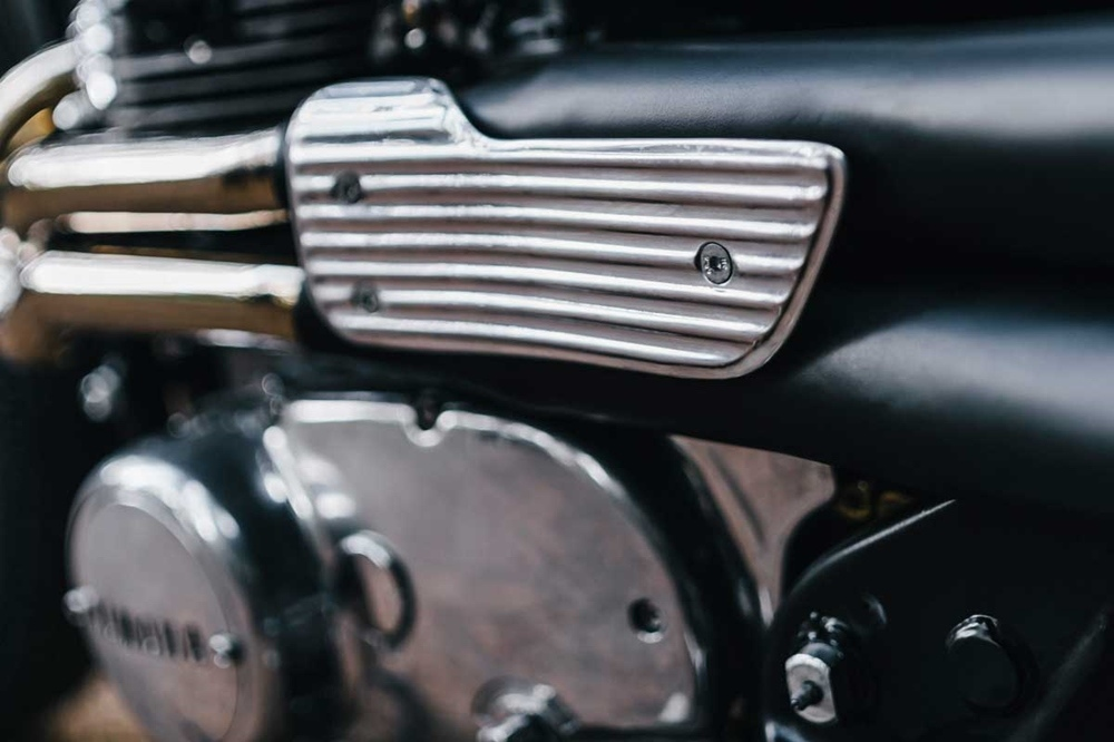 Megerle.Co: брэт-кастом Yamaha XS650 Zero Excess
