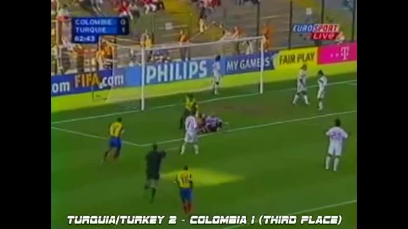 15 Матч за 3 е место Колумбия Турция