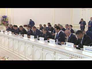 Россия и Узбекистан подписали пакет документов двухстороннего сотрудничества
