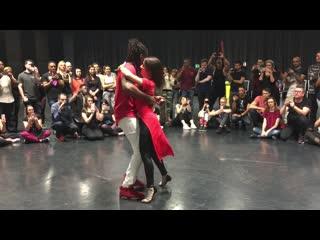 Jojo & Victoria playing Kizomba at Luxembourg International Kizomba Festival 2019 (Sunday)