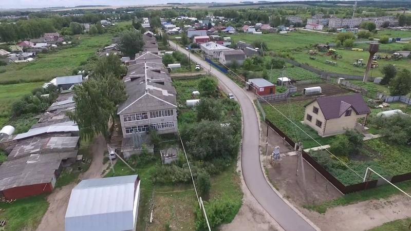 с Бутурлино Нижегородская область Аэросъемка