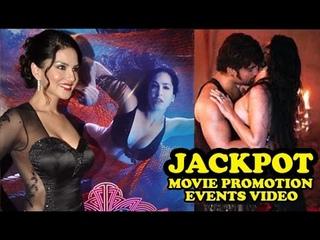 Jackpot Movie 2013| Sunny Leone, Sachiin Joshi Naseeruddin Shah | Full Promotion Events Video
