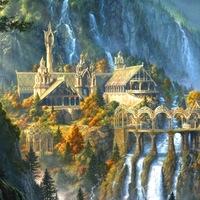 """Логотип Эльфийская Башня / Мастерская """"Elven Tower"""""""