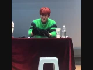[VK][181215] MONSTA X fancam (Jooheon focus) @ Gimpo fansign