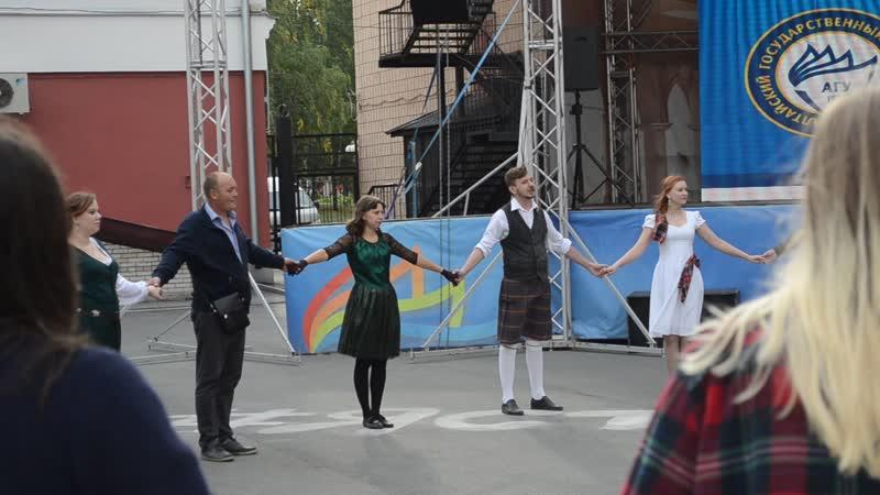 Кейли вальс Осло Осенний шотландский бал разбор 2