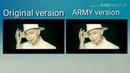 BTS Boy with luv Comparison ARMY and Original vesion