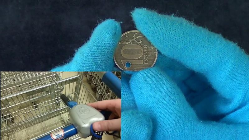 Свободу тележкам! Рукоблуд 10 рублей спасает тележки из гипермаркетов