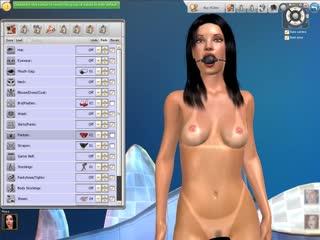 Порно игра 3d sexy villa