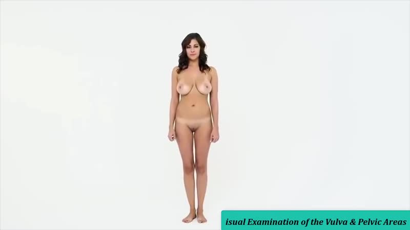 Real Female Anatomy _ Visual Examination of the Vulva Pelvic Areas - Part 1