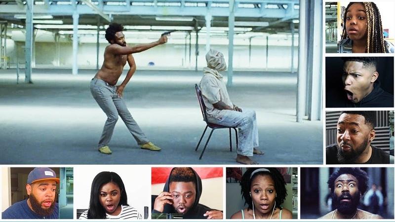 Reactors Reactions To Childish Gambino This Is America