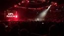 WWE Live Berlin: Rusev vs Matt Hardy (Lars Sullivan attacks)
