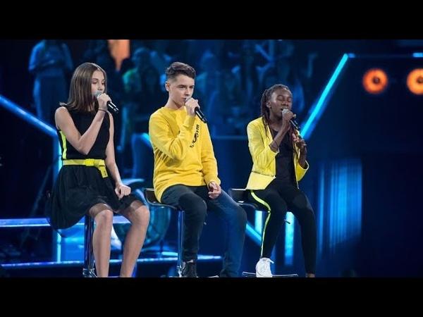 Pola Deptuła vs Michał Szczurek vs Nandi Lewandowska - Byle Jak - Bitwy - The Voice Kids Poland 2