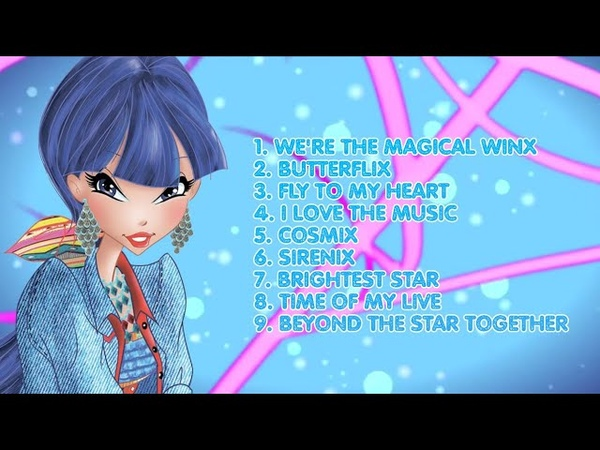 Winx Club Season 8 All songs from the first part in English
