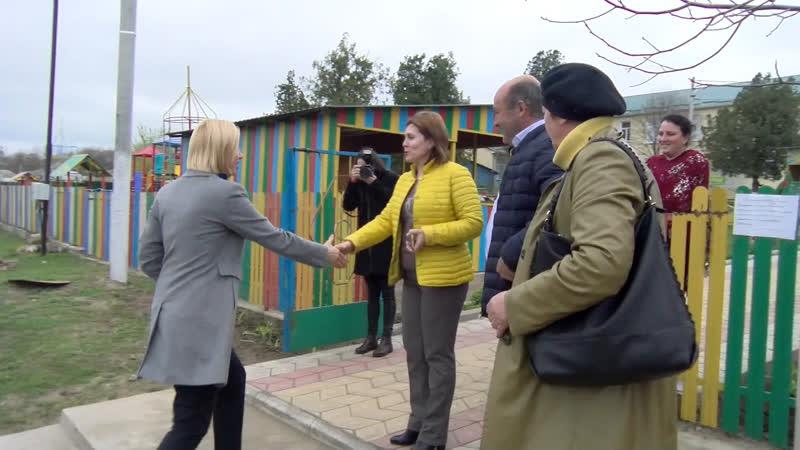 LIVE Посещение детского сада села Етулия