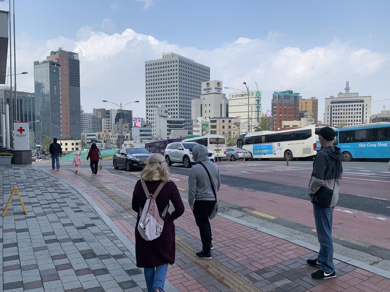 """Южная Корея (Сеул-Пусан-Сеул). """"В первый раз за границу ..."""