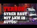 TERRORANSCHLAG in LIMBURG! SYRER entführt LKW und rast in Autos! Viele Verletzte!