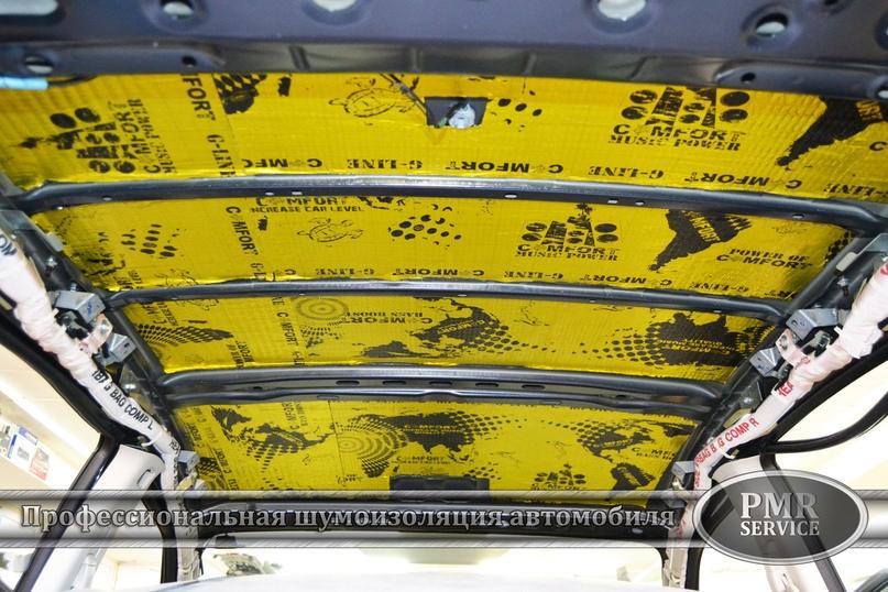 Комплексная шумоизоляция Subaru Impreza, изображение №5