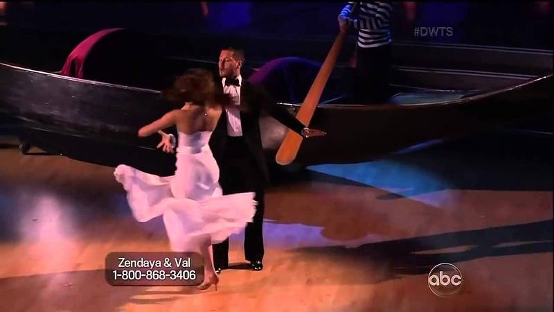Zendaya Val DWTS Week 03 - Viennese Waltz