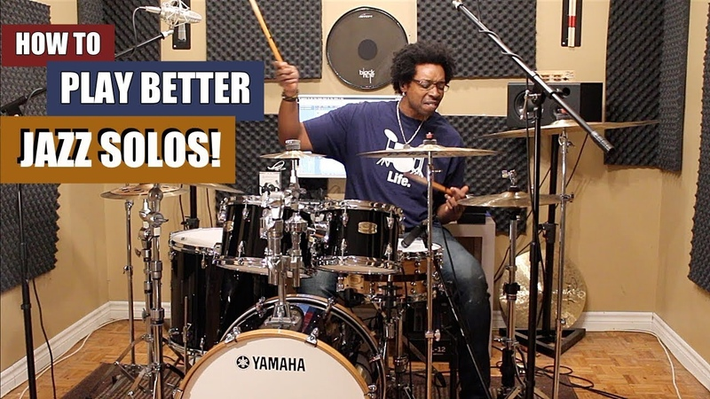 HOW To PLAY BETTER JAZZ SWING SOLOS w/ Exercises