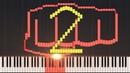 Seijaku no Apostle One Punch Man 2 Opening Piano Tutorial Synthesia PianoPrinceOfAnime