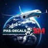 """Модели гражданских лайнеров """"PAS-DECALS"""""""