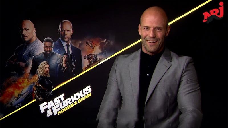 Fast Furious : Hobbs and Shaw - Jason Statham et Idris Elba en parlent - NRJ interview