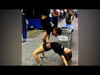 SLs Workout SuperGirl - Beauty and Strongest Demi Bagby