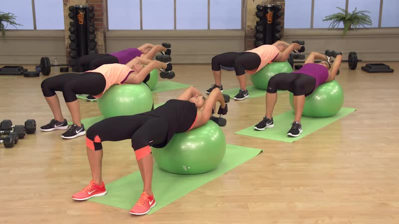 Cathe Friedrich 3 Mixed Impact Cardio Pull Day Fit Split