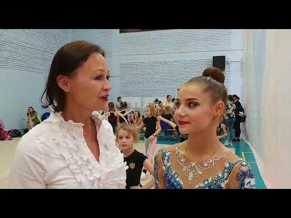 Победительница Анна Иванова Междунородного турнира по Художественной гимнастике Ярославская Весна201