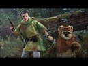 STAR WARS Hot Toys LEIA and WICKET!