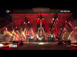 Mando Diao ZDF Live Show Willkommen 2020 - Silvester am Brandenburger Tor