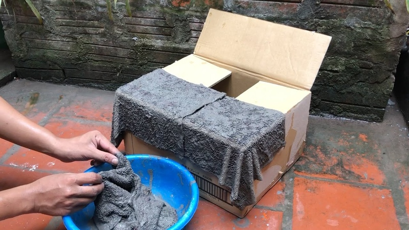 SMART DIY Amazing Ideas with Cement and Carton box