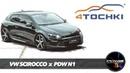 VW Scirocco Black R Line на дисках PDW N1 и шинах Altenzo на 4 точки.