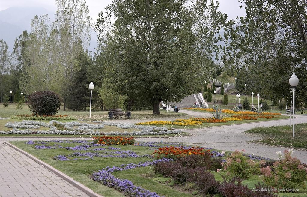 Прогулка в Парке Первого Президента, Алматы 2019