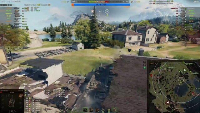 Яркий момент World of Tanks Фарм и общение 2 18