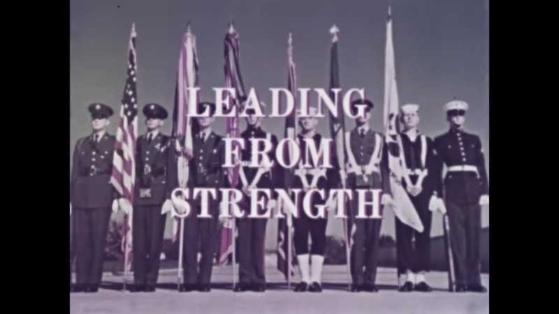 1963 U S NAVY MARINE CORPS FILM USS FORRESTAL ON MANEUVERS LEADING FROM STRENGTH 80214