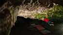 Road to Tokyo 36 Bouldering in a Cave Ghost Rider 8C
