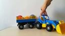 Синий трактор привез сюрпризы Шопкинс Пластилиновый сюрприз Куралесики