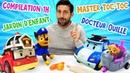 Compilation 1h30 pour enfants Jardin d'enfant Master Toc Toc Docteur Ouille