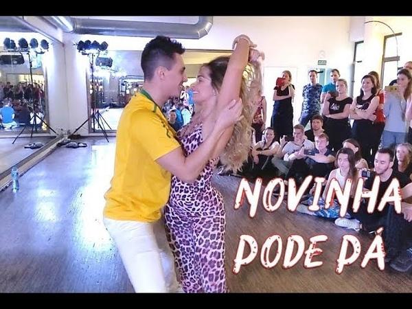 Rick Larissa Lucas e Orelha Novinha Pode Pá Brazilian Zouk Dance Wroclaw Poland
