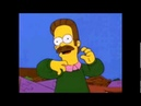 Metal Ned Flanders Riddly Diddly Heavy Nedal