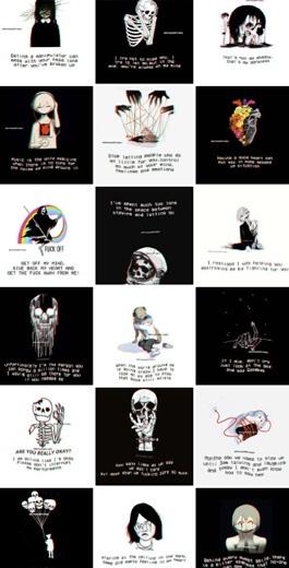 depressedphrases's Instagram