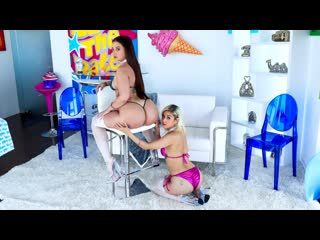 Gia Paige, Penelope Reed - Naughty Teamwork With Gia And Penelope - Anal Sex Gonzo Oil Creampie