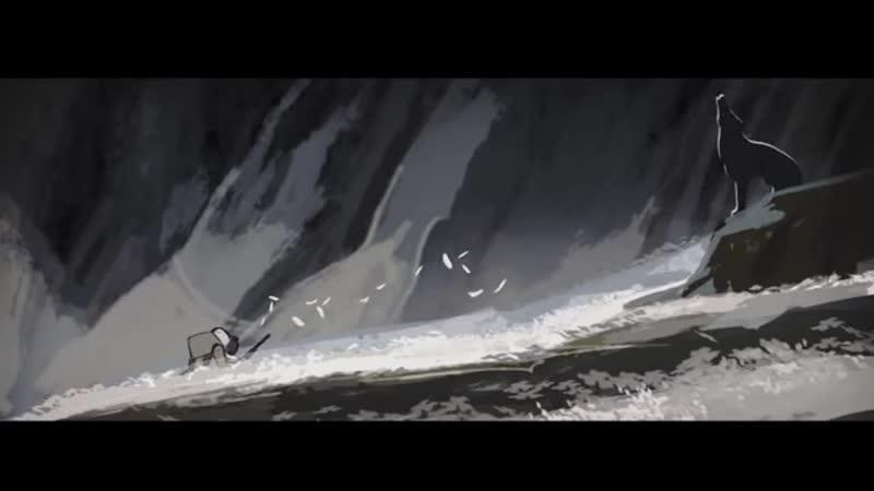До слёз грустный Мультик Песня Волчицы Эмоции через край Короткометражный мульт