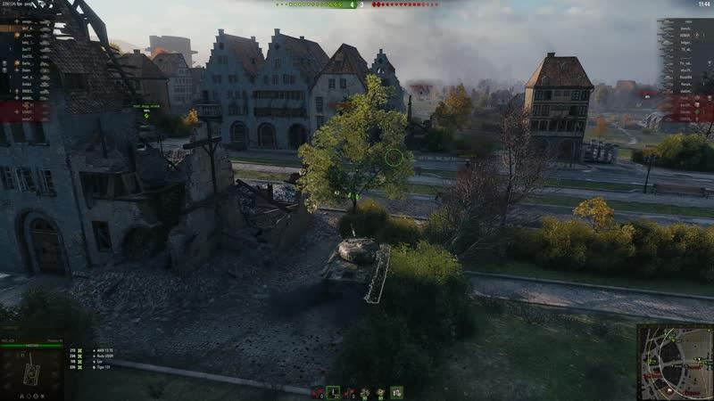 Запись игрока ТроJlуboos победного матча турнира Level UP по World of Tanks 19 ноября